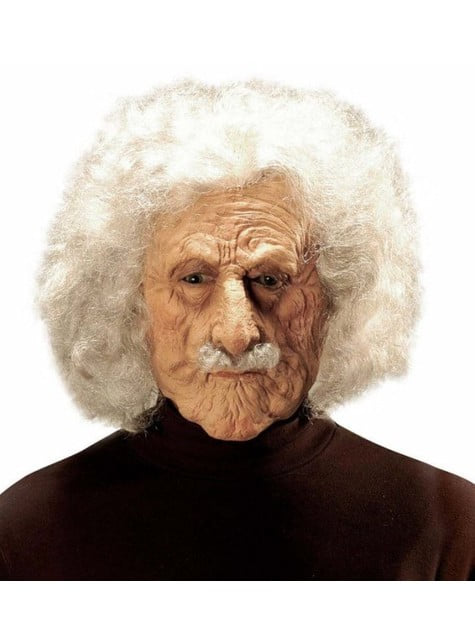 Masque scientifique Einstein