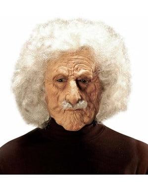 Máscara de cientista Einstein