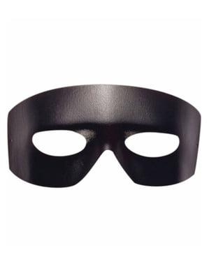 Masque bandit effet cuir