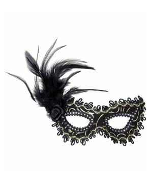Маска венециански карнавал на очите