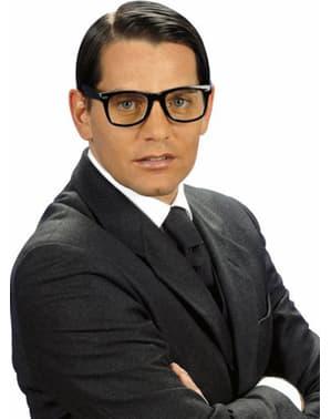Hipster fekete szemüveg