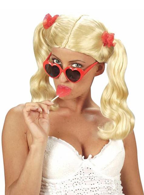 Κόκκινα γυαλιά καρδιάς