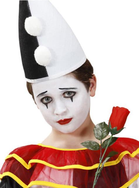 Set de maquillaje blanco y negro - para tu disfraz