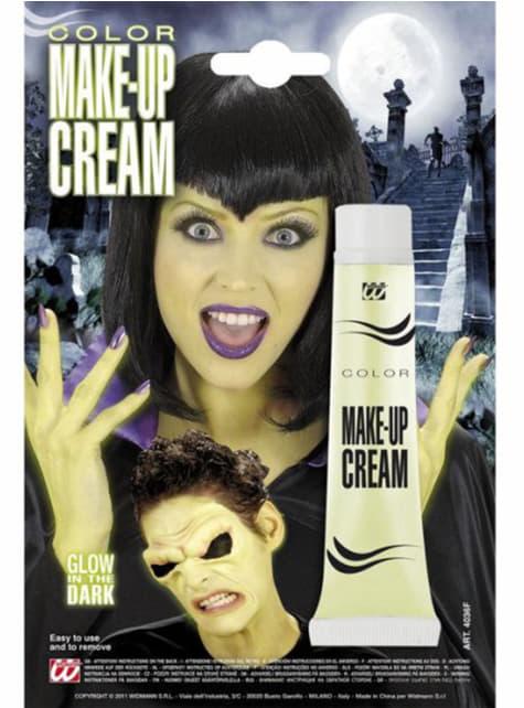 Maquillaje fluorescente en crema