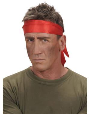 Pañuelo rojo de raso