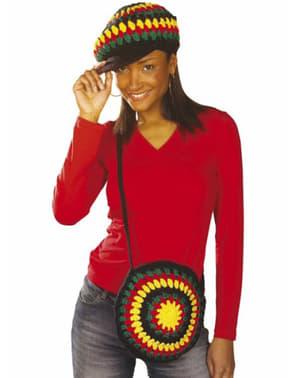 Hæklet rastafaritaske