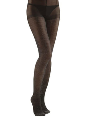 Black tights with glitter