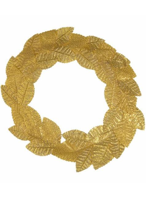 Golden bay leaf Roman crown
