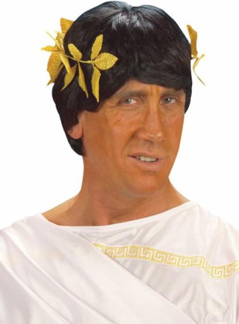 Corona romana de laurel dorada - para tu disfraz