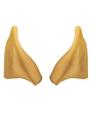 Elf Ohren und Klebstoff