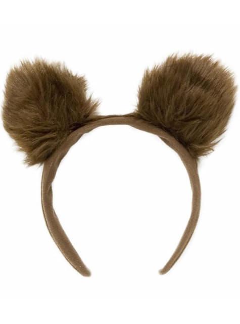 毛皮のようなクマの耳