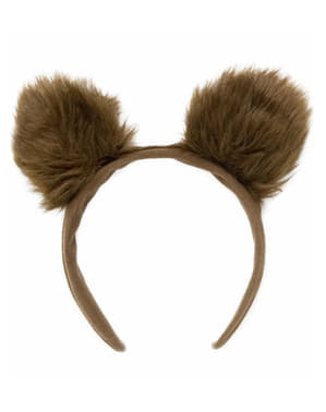 Furry bear ears