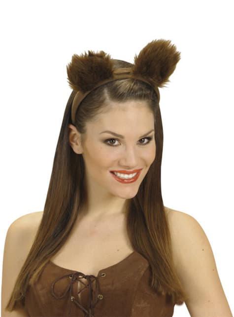 Uši chlpatých medveďov