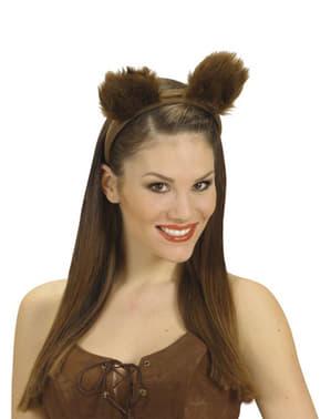 Orecchie da orso peloso