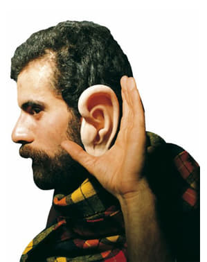 Gigantiske latex ører