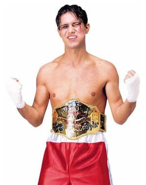 Heavyweight wrestling belt