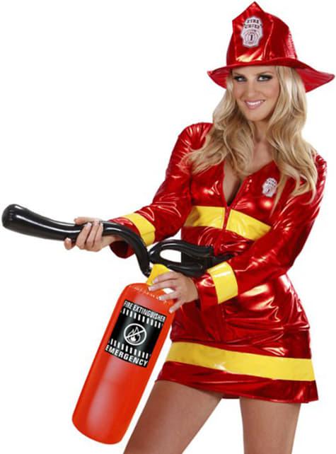 Extintor insuflável