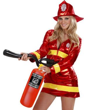 Extintor de bombeiro insuflável