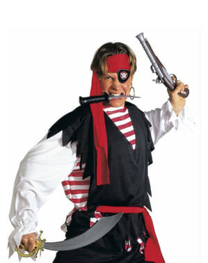Piraten sabel met ooglap