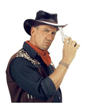 Cowboypistol med ljus och ljud