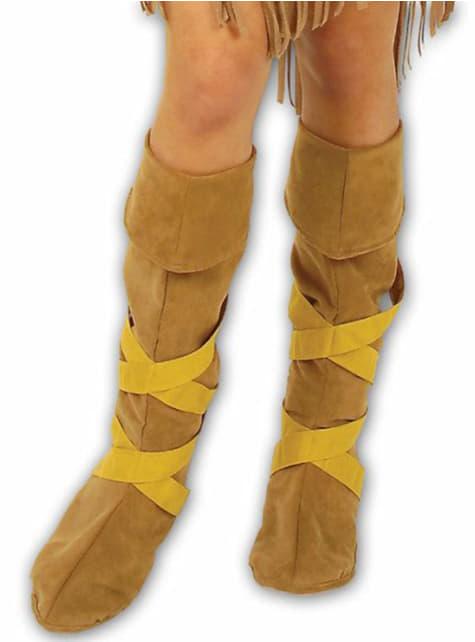 Indické návleky na topánky