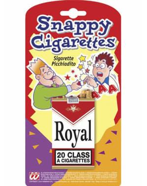 Faux paquet cigarettes clac-doigts