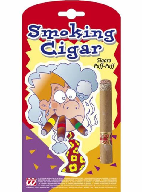 Faux cigare allumé