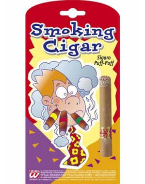Cigaro finto acceso