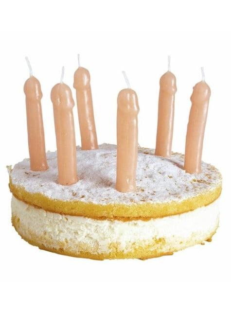 Пеніс фасонні свічки