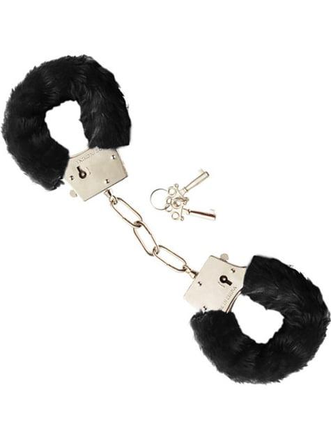 毛皮のような手錠