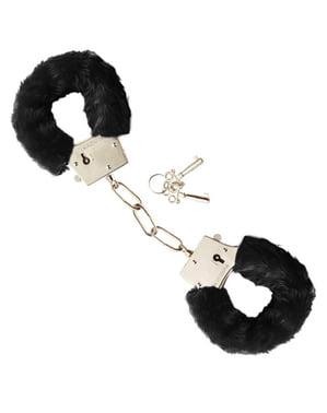 Handschellen mit Fell
