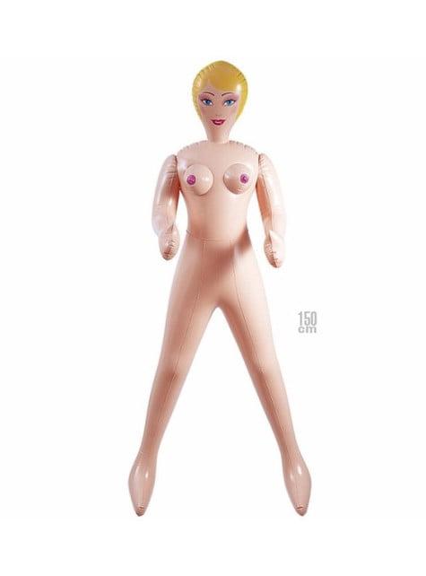 Poupée gonflable blonde
