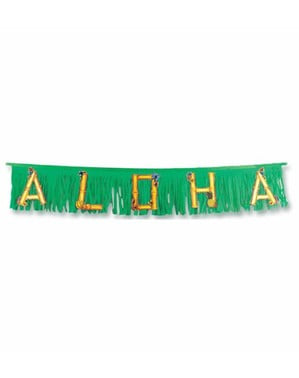 Guirnalda hawaiana Aloha