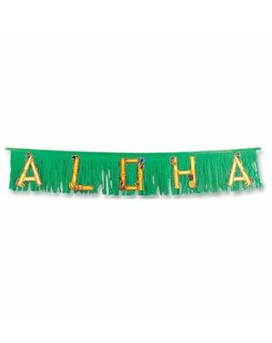 Hawaiische Aloha Girlande