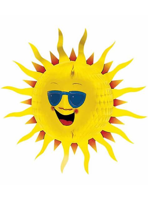Decorative Honeycomb Sun