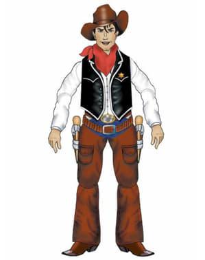 Decoratieve cowboy