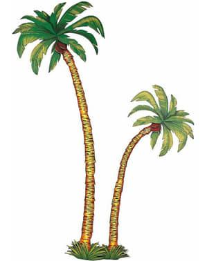 Decorative palm trees