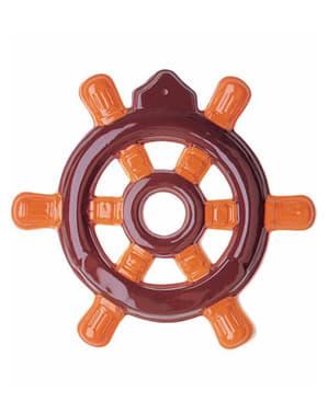 Roda do leme decorativa para parede