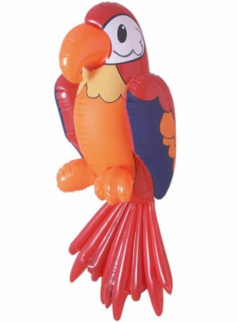 Κόκκινος Φουσκωτός Παπαγάλος