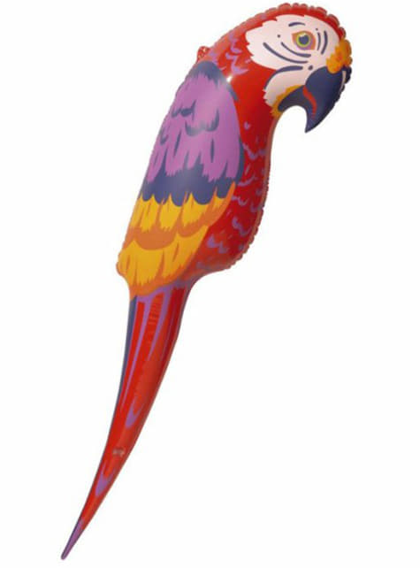 Carribbean inflatable parrot
