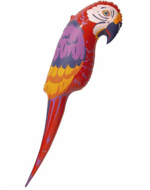 Karibisk uppblåsbar papegoja