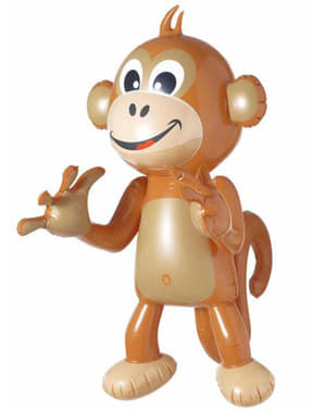 インフレータブル猿