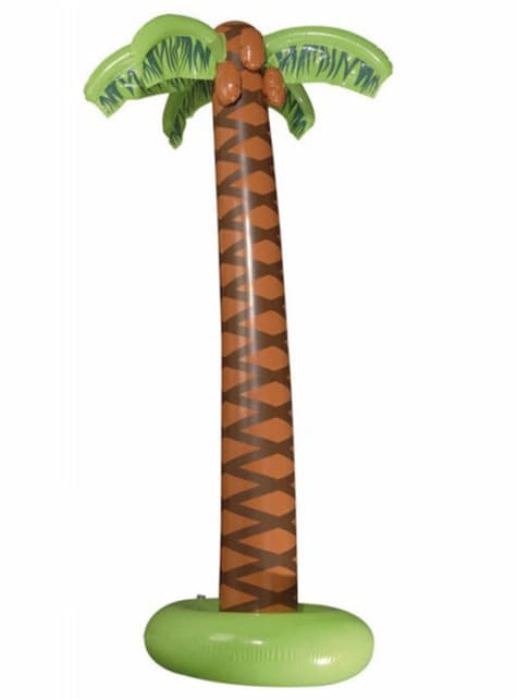 Inflatable tropical palm tree