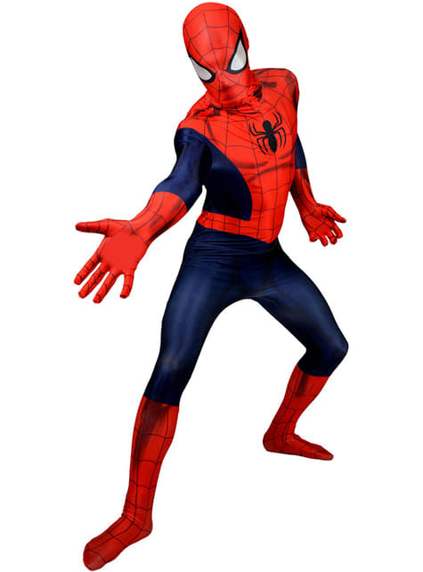 Spiderman Deluxe Morphsuit -asu