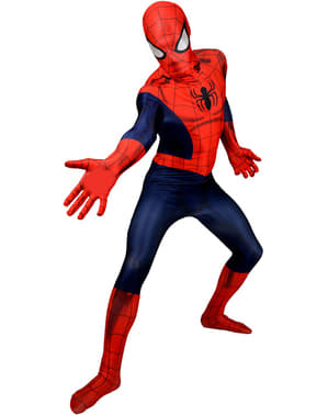Fato Spiderman Deluxe Morphsuit