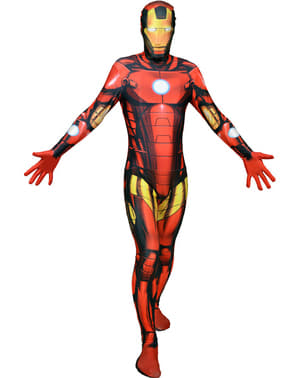 Fato Iron Man Deluxe Morphsuit