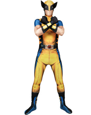 Wolverine Costume Morphsuit