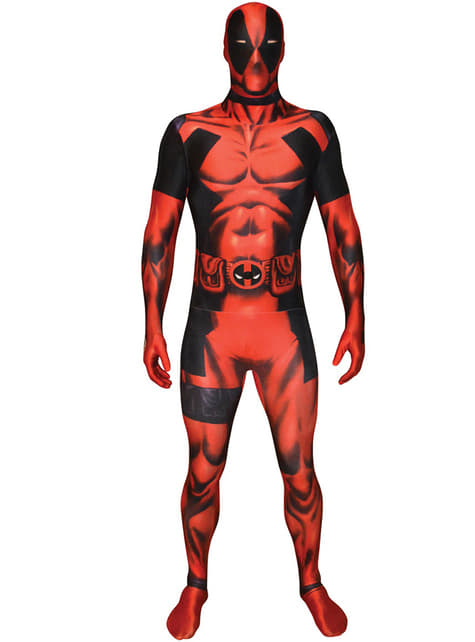 Deadpool Klassisk Kostyme Morphsuit