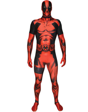 Klassisk Morphsuit Deadpool dräkt