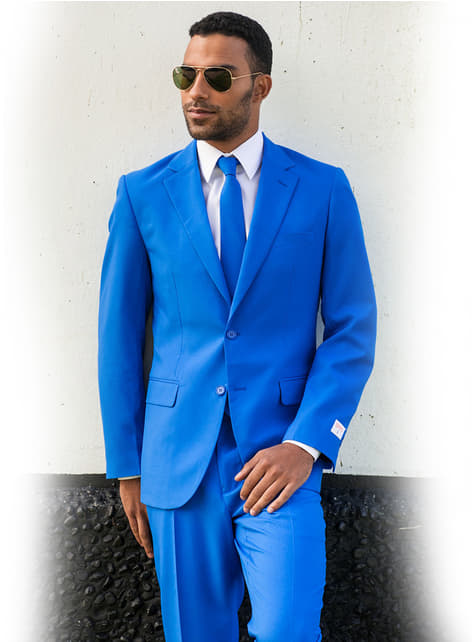 Traje Blue Steel Opposuit - original